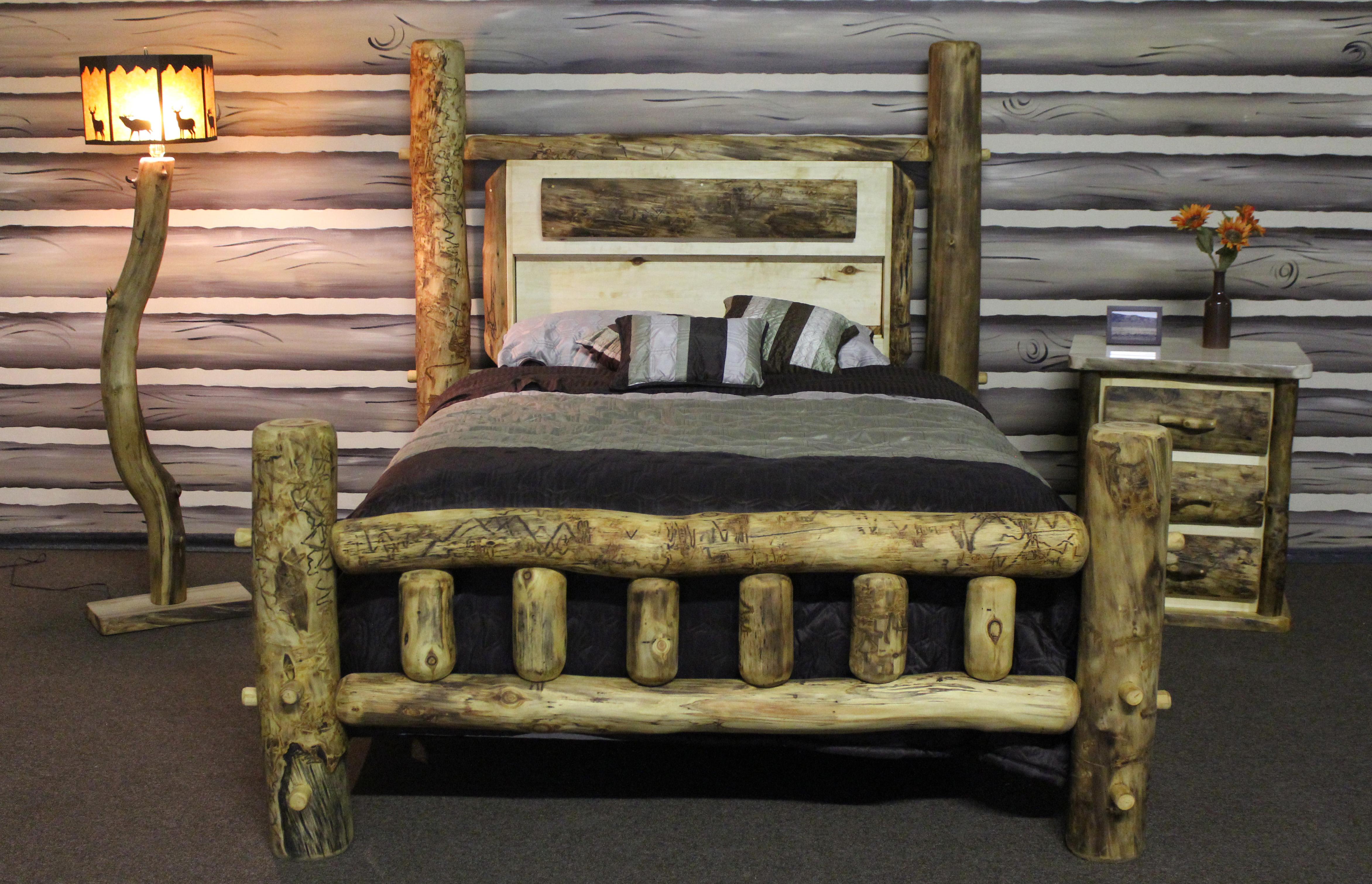 Online Sales Of Rustic Aspen Log Furniture amp Pine