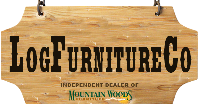 Log Furniture CO is an independent dealer of Mountain Woods Furniture