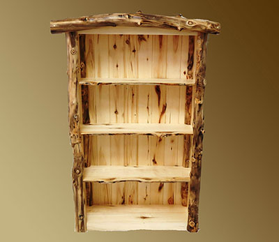 Aspen Grizzly 3 Shelf Bookcase