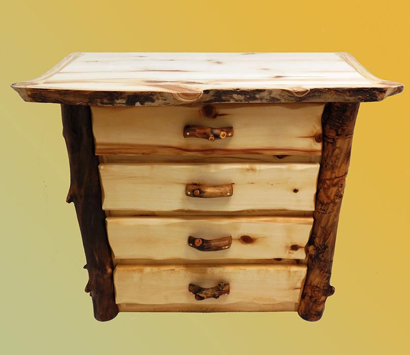 Handcrafted Rustic Aspen Log Furniture And Pine Log Furniture For Your Bedroom Living Room