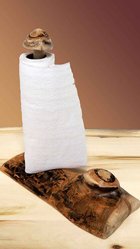 Aspen Grizzly Paper Towel Holder