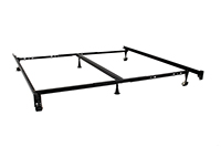 Brooklyn Bedding Universal Heavy Duty Adjustable Bed Frame