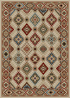 Mayberry Rug - Lodge King - Ivory