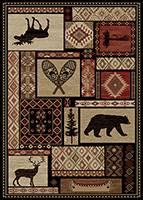 Mayberry Rug - Lodge King - Panel