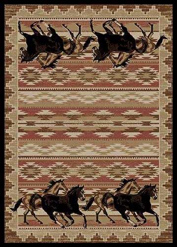 Mayberry Rug - Lodge King - Equestrian