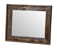 Wyoming Collection Wall-Mount Mirror-Horizontal