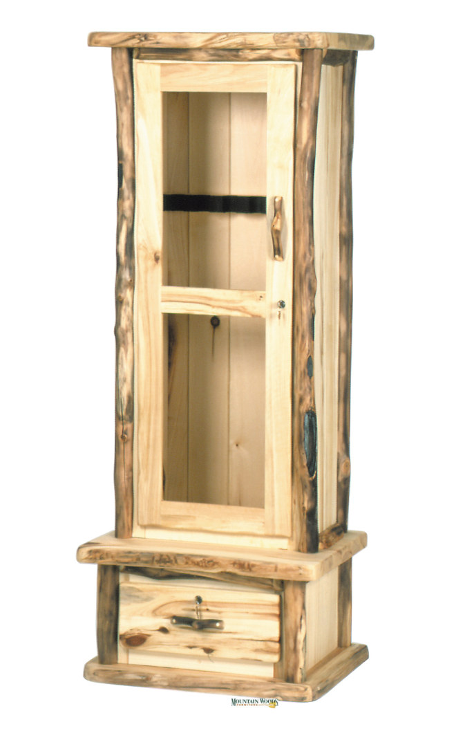 Beau Keep Those Guns Locked Away Safe, Without Sacrificing Rustic Beauty And  Appeal! This Is Our 6 Gun Cabinet With Tempered Glass And Locks (also  Available With ...