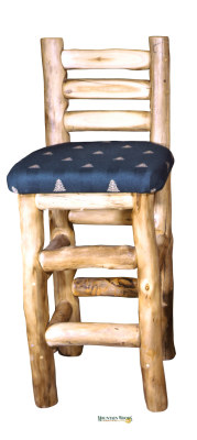 Barstool with back