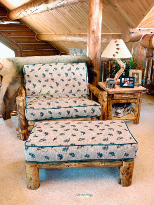 Twin Chair and Ottoman