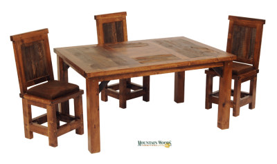 Wyoming Collection 5' Dining Table