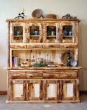 Large Buffet and Hutch (2-piece)