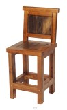 Wyoming Collection Barstool with Back