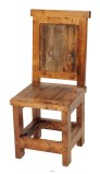 Wyoming Collection Dining Chair Wood Seat