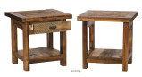 "Wyoming Collection 24"" High End Table"