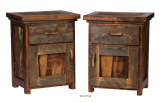 Wyoming Collection One-Drawer, One-Door Nightstand