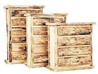 Log furniture made for a life time