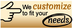 We love custom work